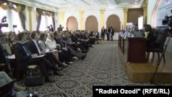 Международная конференция «Противодействие терроризму и насильственному экстремизму», Душанбе, 3 мая 2018 года