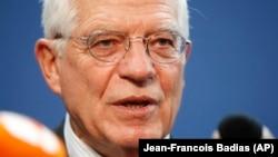 جوزپ بورل میگوید، طرح آمریکا از «موازین پذیرفته شده بین المللی فاصله دارد»