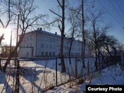 Школа-интернат в Лазурненском