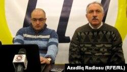 Eynulla Fətullayev və Mehman Əliyev