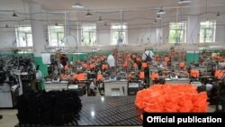 Armenia - A new textile factory in Tavush province, 6Jun2017.