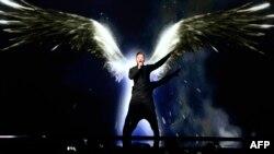 Росіянин Сергій Лазарєв представляє пісню You Are The Only One, Стокгольм, 9 травня 2016 року