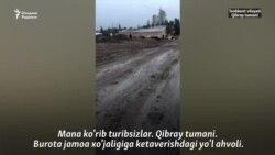 Қибрайлик турғун: 40 йил деганда асфалт қилинган йўлимизни бирпасда дабдала қилишди