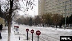 Bakıda ilk qar, 26 yanvar 2010