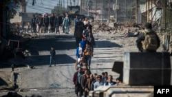 Iračke snage u dijelu Mosula