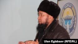 Временно исполняющий обязанности муфтия Киргизии Максат Токтомушев