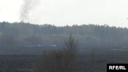 Пожар в зоне отчуждения Чернобыльской АЭС, 1 мая 2015 года