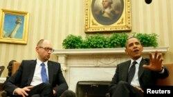 Президент США Барак Обама приймає у Білому домі прем'єра України Арсенія Яценюка
