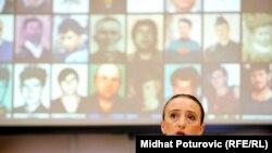 Dženana Halimović, Sa promocije projekta u Sarajevu, foto: Midhat Poturović