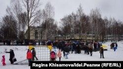 Сход жителей Осиново. 7 апреля 2018 года