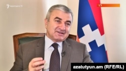 Спикер парламента Нагорного Карабаха Ашот Гулян, Степанакерт, 20 июля, 2017 г․