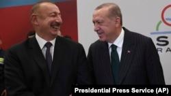 Թուրքիայի նախագահ Ռեջեփ Էրդողան և Ադրբեջանի նախագահ Իլհամ Ալիև, արխիվ