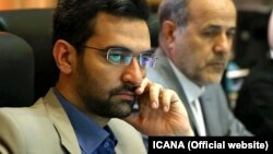 جواد آذری جهرمی وزیر ارتباطات و تکنالوژی معلوماتی ایران