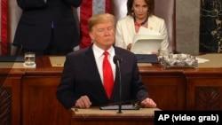 Трамп виступив у Конгресі 5 лютого