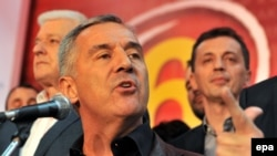 Montenegrin Prime Minister Milo Djukanovic suggested Russia was behind an alleged coup attempt on election day.