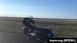 Авария на трассе Таврида, 9Aug2020