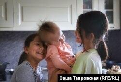 Дочки Наримана и Левизы, село Первомайское Симферопольского района, 26 сентября 2021 года