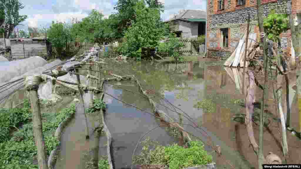 მდინარეებში წყლის დონე უკვე იკლებს.