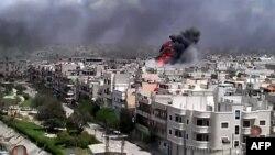 Обстрелы городов правительственными войсками стали в Сирии слишком частыми