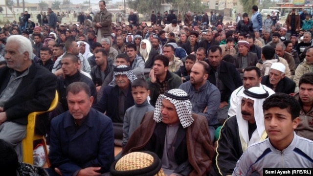 Iraq has seen weeks of demonstrations in predominantly Sunni areas against the Shi'ite-led government of Prime Minister Nuri al-Maliki.