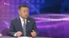 """Чыныбай Турсунбеков в пражской студии """"Азаттыка""""."""