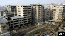 A construction site in Yerevan (file photo)