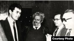 Инициаторы и авторы Декларации о суверенитете Узбекистана. Ташкент, 1989 год.