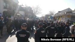 Protesta në Tuz më 25 shkurt