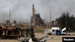 Тикрит қаласының «Ислам мемлекеті» тобынан азат етілгеннен кейінгі қалпы. Ирак, 1 сәуір 2015 жыл. (Көрнекі сурет)