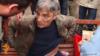 Հայաստան -- Հիմնադիր խորհրդարանի ներկայացուցիչ Հրաչ Միրզոյանը՝ դանակահարվելուց րոպեներ անց, Գյումրի, 28-ը մարտի, 2015թ․
