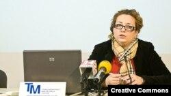Ана Јаневска Делева, извршен директор на Транспарентност Македонија.