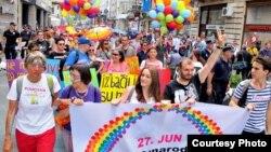 Beograd na Međunarodni dan ponosa
