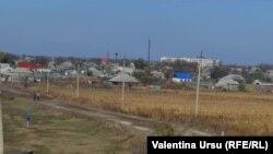 Vedere a satului