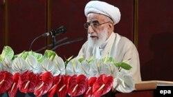 Иран Сарапшылар кеңесінің басшысы болып сайланған аятолла Ахмад Джаннати. Тегеран, 24 мамыр 2016 жыл.