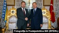 Bakir Iztetbegović i Redžep Tajip Erdogan
