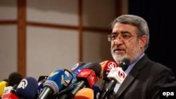 Iranian Interior Minister Abdolreza Rahmani Fazli (file photo)