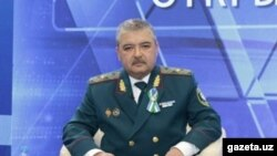 Глава МВД Узбекистана Абдусалом Азизов.