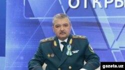 Ўзбекистон ички ишлар вазири Абдусалом Азизов.