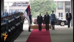 Josipović prvi put s Nikolićem u Beogradu
