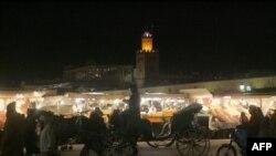 Marocco -- The Place Jemaa El Fna in Marrakesh