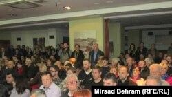 Sa skupa u Mostaru, foto: Mirsad Behram
