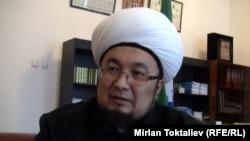 Верховный муфтий Кыргызстана Чубак ажи Джалилов.