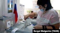 Голосування за поправки в Бахчисараї 1 липня 2020 року