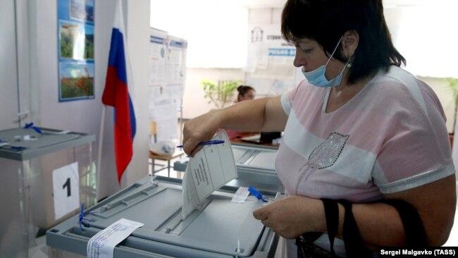 Голосование за поправки в Бахчисарае, 1 июля 2020 года