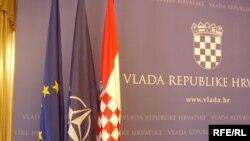 Zastave Hrvatske, EU i NATO-a