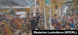 Розкуркулення. Картина російського художника Іллі Глазунова