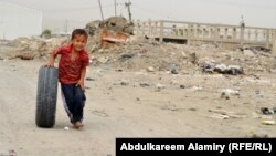 طفل عراقي من البصرة