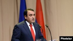 Председатель партии «Оринац еркир» Артур Бадасарян