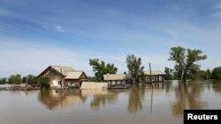 Наводнение в Алтайском крае.