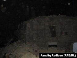 Bakıda Səməd Vurğun küçəsi 49-da yerləşən bu bina dekabrın 19-da gecə sökülüb.